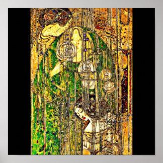 Poster-Vintage-Charles Rennie Mackintosh 18 Póster