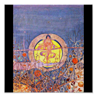 Poster-Vintage-Charles Rennie Mackintosh 19 Póster