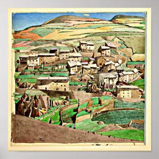 Poster-Vintage-Charles Rennie Mackintosh 25 Póster