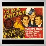 Poster-Vintage Chicago Art-In Old Chicago