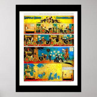 Poster-Vintage Cómico-Pequeño Nemo 13 Póster