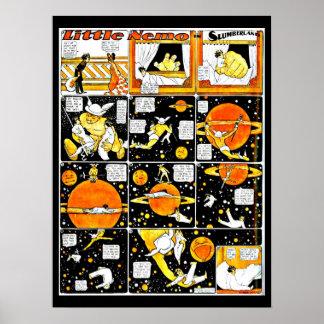Poster-Vintage Cómico-Pequeño Nemo 16