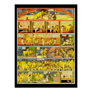 Poster-Vintage Cómico-Pequeño Nemo 28 Póster