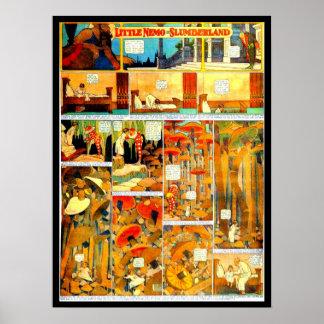 Poster-Vintage Cómico-Pequeño Nemo 4