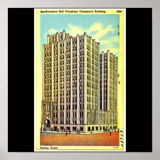 Poster-Vintage Dallas Artwork-10 Poster