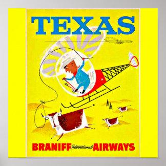 Poster-Vintage Dallas Artwork-17 Poster
