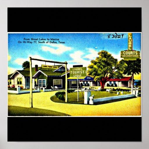 Poster-Vintage Dallas Artwork-22 Poster