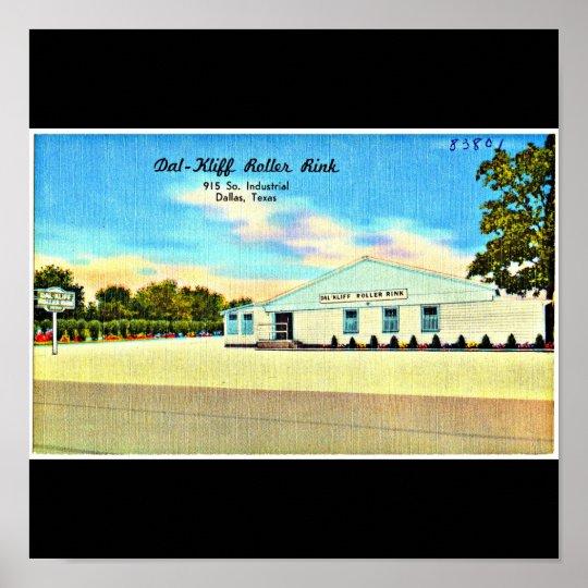 Poster-Vintage Dallas Artwork-29 Poster