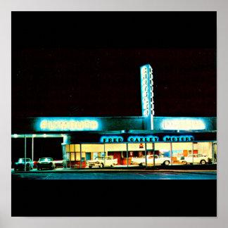Poster-Vintage Dallas Artwork-31 Poster