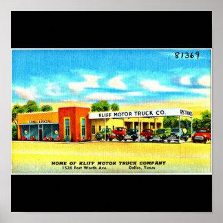 Poster-Vintage Dallas Artwork-33 Poster