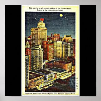 Poster-Vintage Dallas Artwork-54 Poster