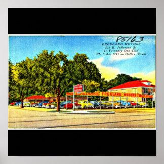 Poster-Vintage Dallas Artwork-8 Poster
