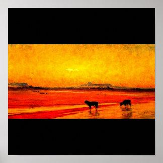 Poster-Vintage Dallas Artwork-Frank Reaugh 10 Poster