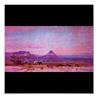 Poster-Vintage Dallas Artwork-Frank Reaugh 13 Poster