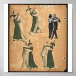 Poster-Vintage-Dance Poster