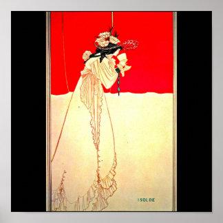 Poster-Vintage Illustration-Aubrey Beardsley 11 Poster