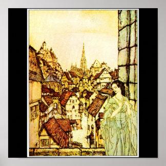 Poster-Vintage Illustration-Rackham 23 Poster