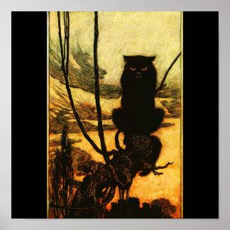 Poster-Vintage Illustration-Rackham 26 Poster