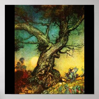 Poster-Vintage Illustration-Rackham 29 Poster
