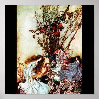 Poster-Vintage Illustration-Rackham 3 Poster