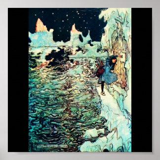 Poster-Vintage Illustration-Rackham 8 Poster
