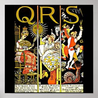 Poster-Vintage Illustration-Walter Crane 9 Poster