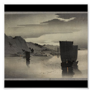 Poster-Vintage Japanese Art-Koson Ohara Poster