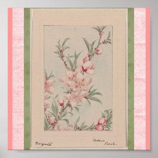 Poster-Vintage Japanese Art-Megata Poster