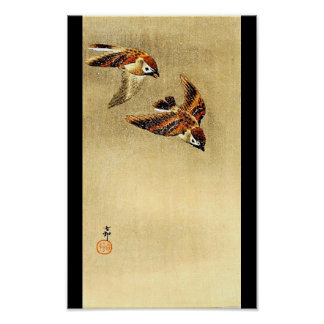 Poster-Vintage Japanese Art-Ohara Koson 10 Poster
