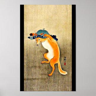 Poster-Vintage Japanese Art-Ohara Koson 15 Poster