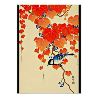 Poster-Vintage Japanese Art-Ohara Koson 1 Poster