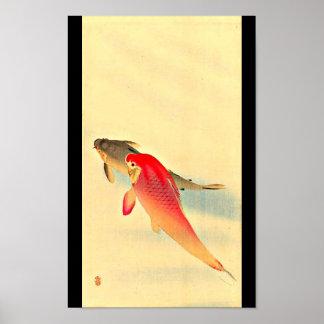 Poster-Vintage Japanese Art-Ohara Koson 23 Poster