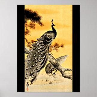 Poster-Vintage Japanese Art-Ohara Koson 4