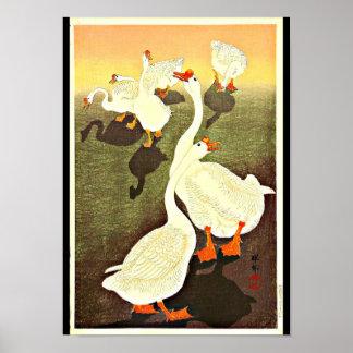 Poster-Vintage Japanese Art-Ohara Koson 5 Poster