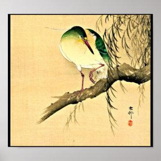 Poster-Vintage Japanese Art-Ohara Koson 9 Poster