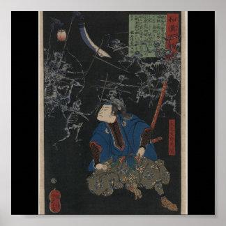 Poster-Vintage Japanese Art-Yoshitoshi Taiso 2 Poster
