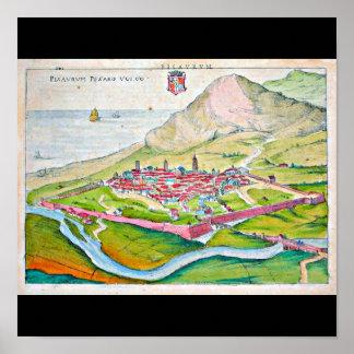 Poster-Vintage Maps-Jodocus Hondius 21 Poster