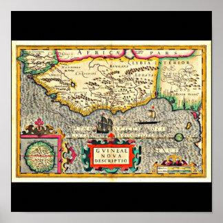 Poster-Vintage Maps-Jodocus Hondius 30 Poster