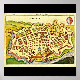 Poster-Vintage Maps-Jodocus Hondius 39 Poster