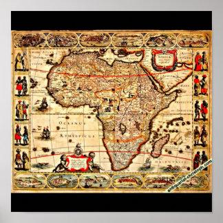 Poster-Vintage Maps-Jodocus Hondius 43 Poster