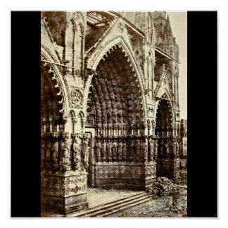 Poster-Vintage Photography-Charles Marville 26 Poster
