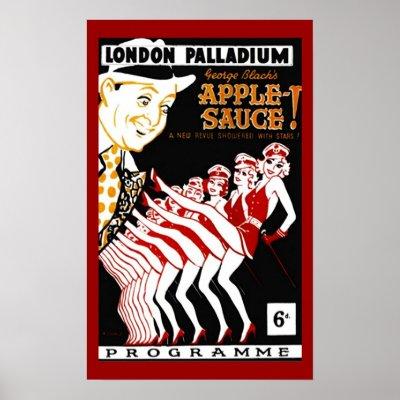 poster vintage pop art 1940s