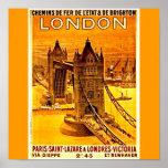Poster-Vintage Travel Art-London 2