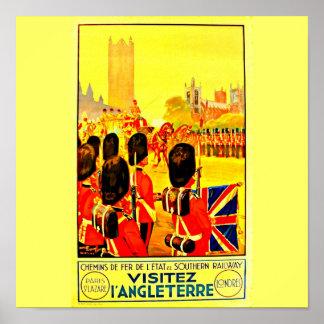 Poster-Vintage Travel Art-London 3 Poster
