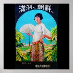 Poster-Vintage Travel-Asia