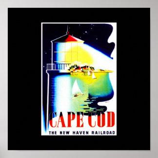 Poster-Vintage Travel-Cape Cod Poster