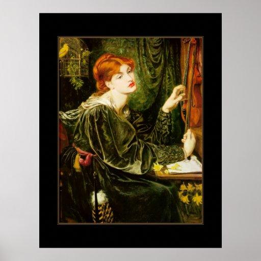 Poster Vintage Veronica Veronese 1872 Print