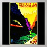 Poster-Vintage Viaje-Yugoslavia