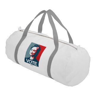 Poster Vote - Hillary Clinton Gym Duffle Bag