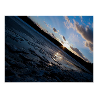 Poster - Walden Pond Winter